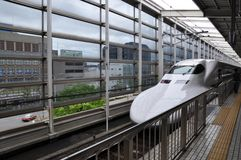 Shinkansen Royalty Free Stock Photography