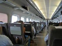 日本shinkansen 库存照片