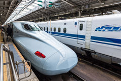 Shinkansen Royaltyfria Foton