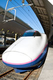 Shinkansen bij de post van Tokyo Royalty-vrije Stock Fotografie