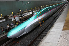 Shinkansen bullet train Royalty Free Stock Photos