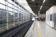 Shinkansen bullet train. Stock Photos