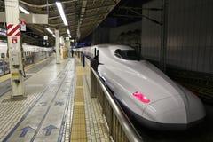Shinkansen bullet train Stock Images