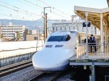 Shinkansen Bullet Train at Tokyo, Japan Royalty Free Stock Photos