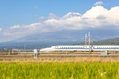 Shinkansen Fuji Royalty Free Stock Photos