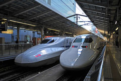 Shinkansen Gewehrkugelserie Lizenzfreie Stockfotografie