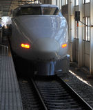 Shinkansen Gewehrkugelserie Stockfotografie