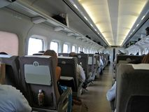 Shinkansen Giappone Fotografie Stock