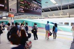 Shinkansen Hayabusa Royalty Free Stock Images