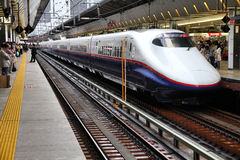 Shinkansen in Japan royalty free stock photography
