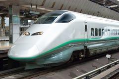 Shinkansen kuldrev Arkivbild