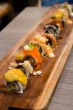 Shinkansen sushi Fotografering för Bildbyråer