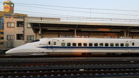 Shinkansen Tokyo Japan Lizenzfreie Stockfotos