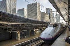 Shinkansen at Tokyo Railway station, Japan royalty free stock photos