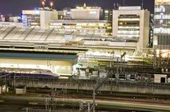 Shinkansen in Tokyo Station Stock Image