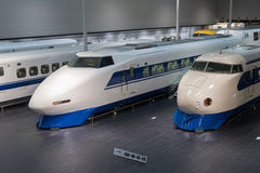 Shinkansen Train in Japan Stock Photography