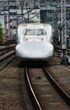 Shinkasen bullet trains Japan. Bullet train Japan Tokyo station 2013 stock image