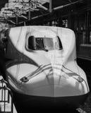Shinkasenultrasnelle treinen Japan Royalty-vrije Stock Foto