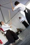 Shinkendo Practice Royalty Free Stock Photo
