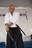 Shinkendo Swordplay Stock Photos