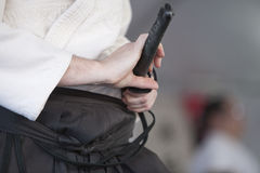 Shinkendo Swordplay Stock Photo
