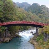 Shinkyo桥梁,日光 免版税库存图片