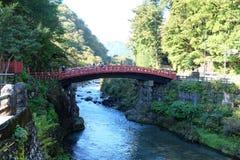 Shinkyo桥梁 图库摄影