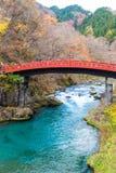Shinkyo桥梁 免版税库存照片