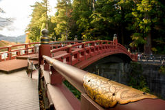 Shinkyo Brücke Stockbilder