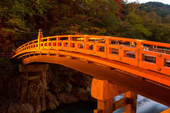 Shinkyo bridge Stock Images