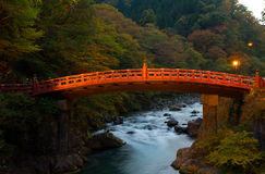 Shinkyo bridge Royalty Free Stock Photography