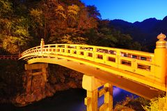 Shinkyo Bridge Stock Photography