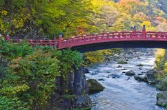 Shinkyo Bridge in Nikko Stock Photos