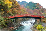 Shinkyo Bridge in Nikko,Japan Stock Photography