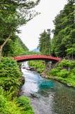 Shinkyo (Heilige Brug) in Nikko royalty-vrije stock foto's