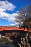 Shinkyo (Sacred Bridge) - Nikko, Japan Royalty Free Stock Photos