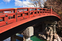 Shinkyo (Sacred Bridge) at Nikko, Japan Royalty Free Stock Photography