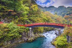 Shinkyo Sacred Bridge Royalty Free Stock Photography
