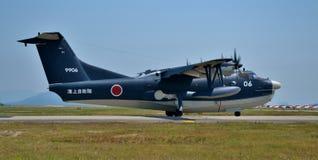 ShinMaywa US-2飞机 免版税库存照片