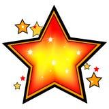 shinning αστέρι Στοκ φωτογραφίες με δικαίωμα ελεύθερης χρήσης