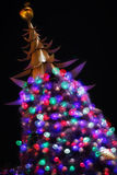 Shinning Christmas Tree Royalty Free Stock Images