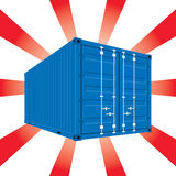 Shinning container Stock Photos