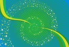 Shinning elementbakgrund Arkivfoto