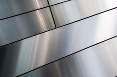Shinning, gładka, srebna metal tekstura, Zdjęcie Stock