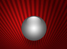 Shinning sphere, pearl Royalty Free Stock Photography