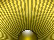 Shinning sphere sunny Stock Image