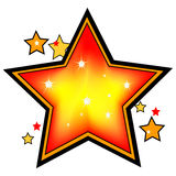 Shinning Star Royalty Free Stock Photos