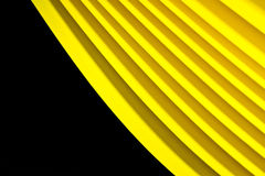 Shinning Yellow Paper Background Royalty Free Stock Photography