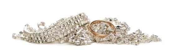 Shinny изолированный jewellery, Стоковое фото RF
