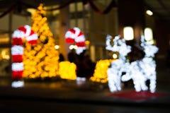 Shinny ноча рождества Стоковое Изображение RF